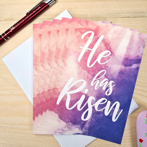 He has Risen Easter Cards