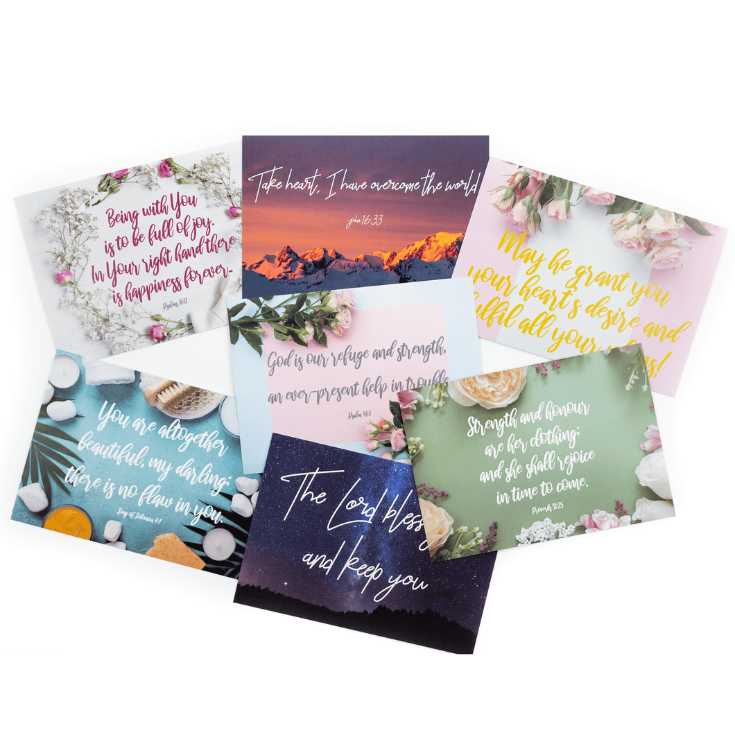 Postcard Pack - Christian Gifts and More