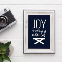 Load image into Gallery viewer, Christmas Print - Joy to the world