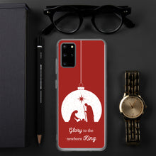 Load image into Gallery viewer, Christmas Samsung Case - Glory to the Newborn King