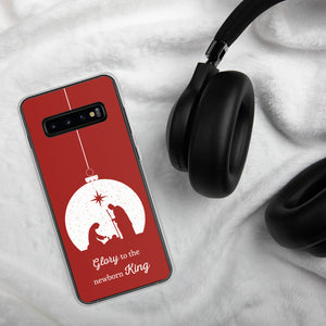 Christmas Samsung Case - Glory to the Newborn King