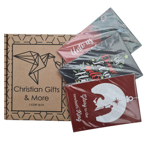 Christmas Postcard Pack - Let Us Adore Him