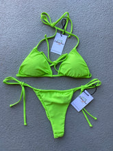 Load image into Gallery viewer, Lime Green Top $31 / Lime Green Bottom $31 (Set $62)