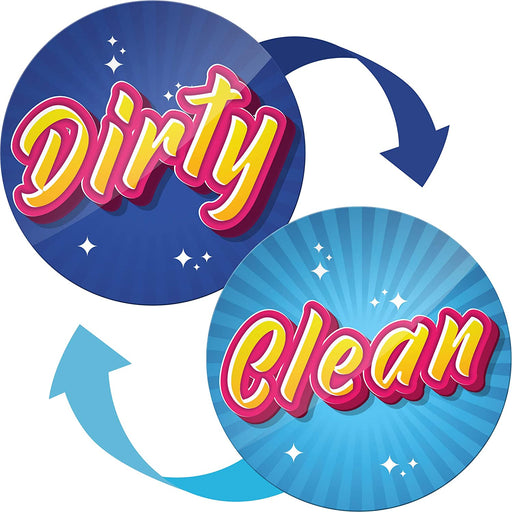 Clean Dirty Dishwasher Magnet Flip - Kitchen Magnets - Housewarming Gifts New Home