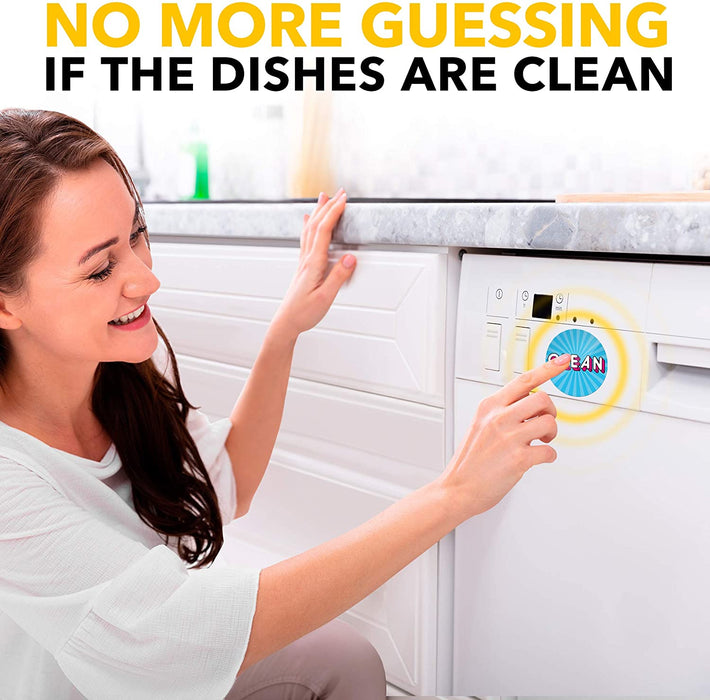 Dishwasher Clean Dirty Magnet Sign - Funny Kitchen Magnet - Housewarming Gifts New Apartment