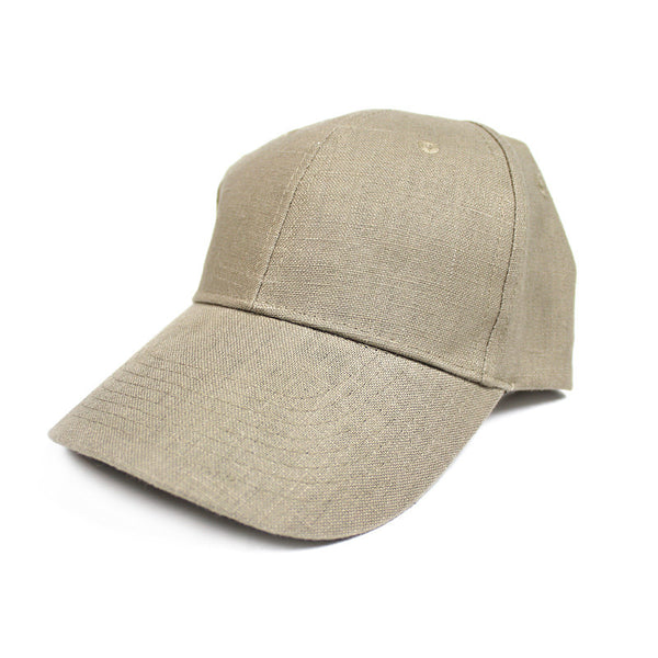 98% Hemp Ball Cap Tan