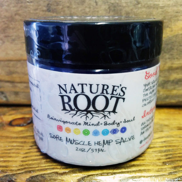 Nature's Root Muscle Salve (non CBD)