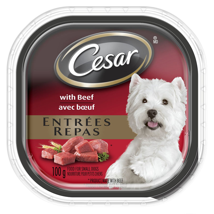 Cesar Gourmet Dog Food Beef