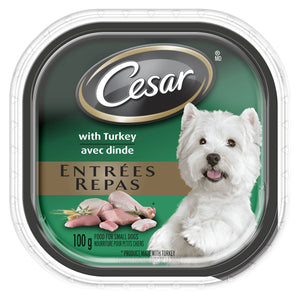 Cesar Gourmet Dog Food Turkey