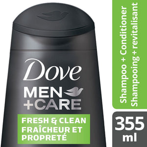 Dove Men Care Fresh & Clean Shampoo + Conditioner