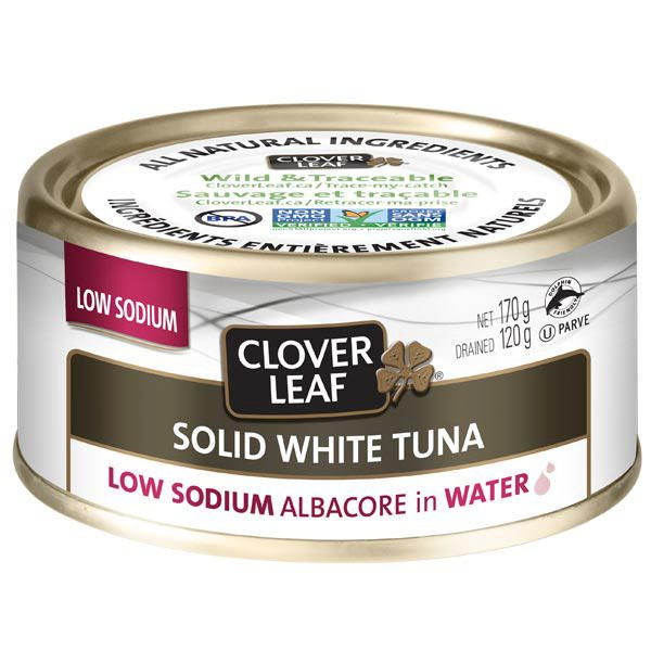 Clover Leaf Low Sodium Solid White Albacore Tuna in Water