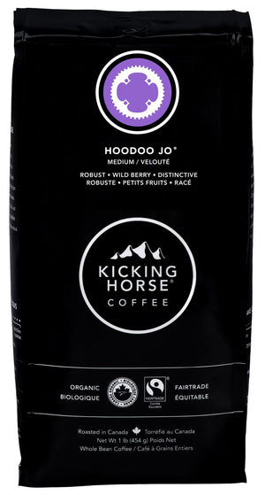 Kicking Horse Hoodoo Jo Organic Whole Bean Coffee