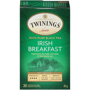 Twinings Irish Breakfast Black Tea Bags