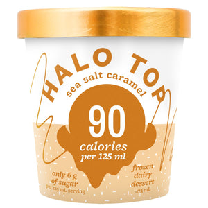 Halo Top Sea Salt Caramel Ice Cream