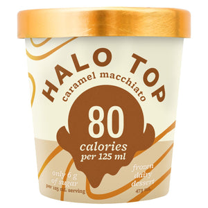 Halo Top Caramel Macchiato Ice Cream