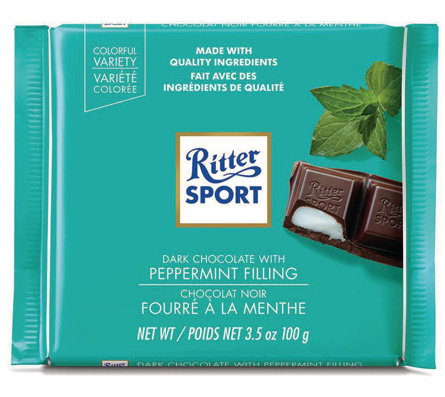 Ritter Sport Dark Chocolate with Peppermint Filling