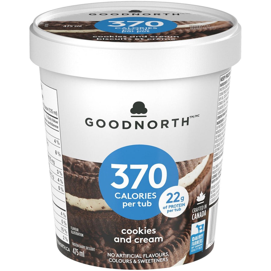 GoodNorth Cookies & Cream Ice Cream