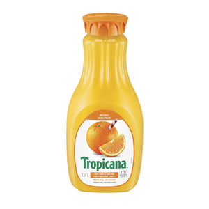 Tropicana No Pulp Orange Juice