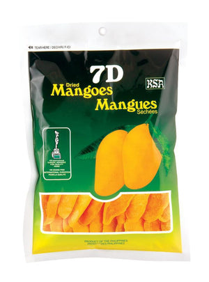 7D Dried Mangoes