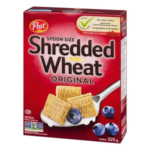 Post Shredded Wheat Spoon Size