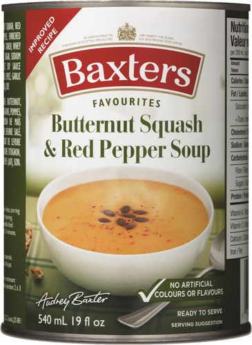 Baxters Butternut Squash & Red Pepper Soup