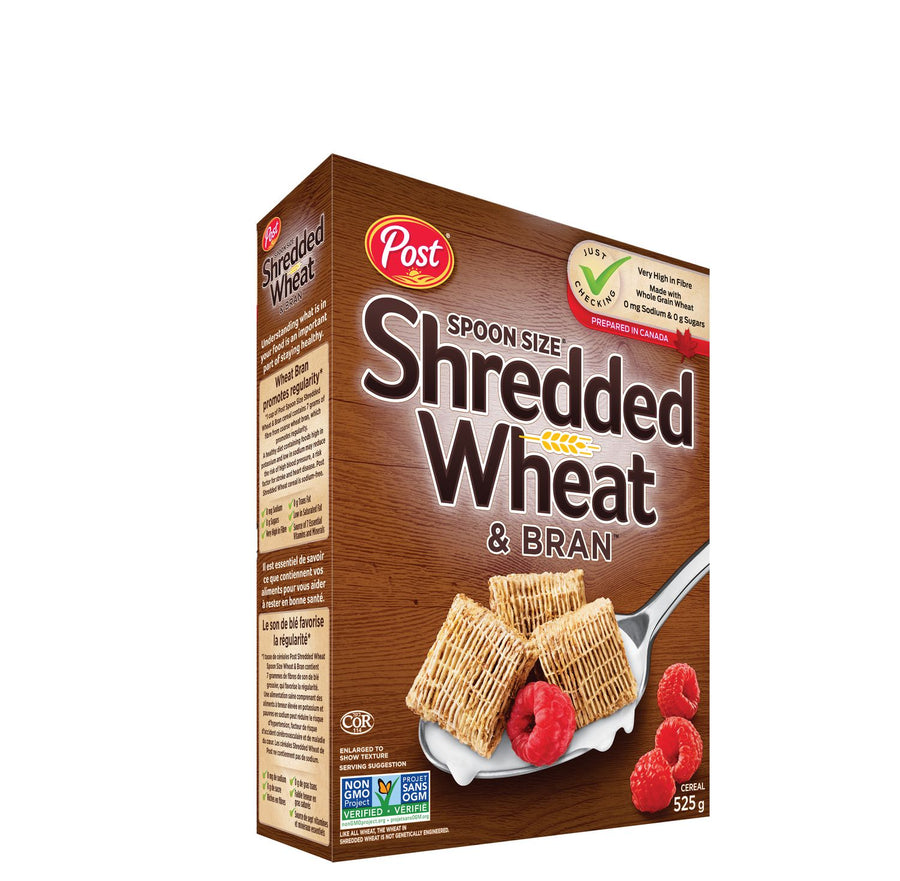 Post Foods Spoon Size Shredded Wheat & Bran