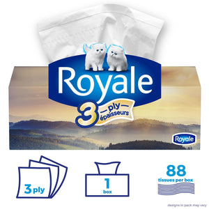 Royale 3 Ply Facial Tissues