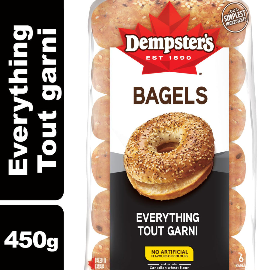 Dempster's Everything Bagels