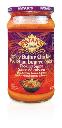 Patak's Original Spicy Butter Chicken Sauce