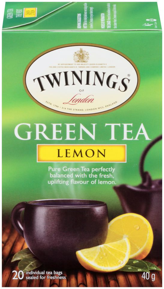 Twinings Green Tea with Lemon Tea Bags