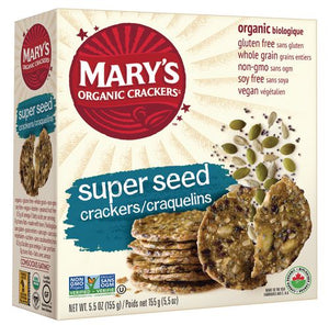 Mary's Organic Super Seed Crackers