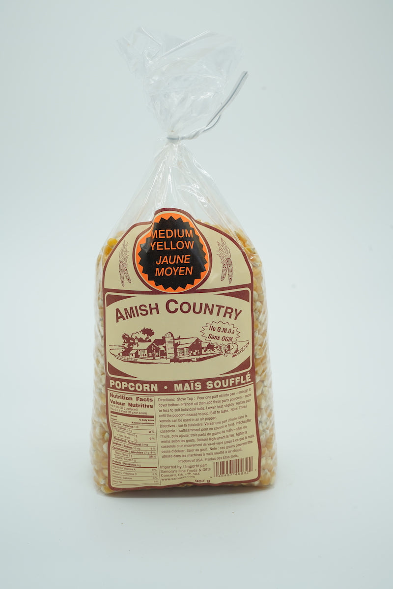 Amish Country Medium Yellow Popcorn