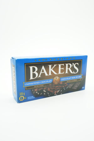 Bakers Unsweetened Chocolate