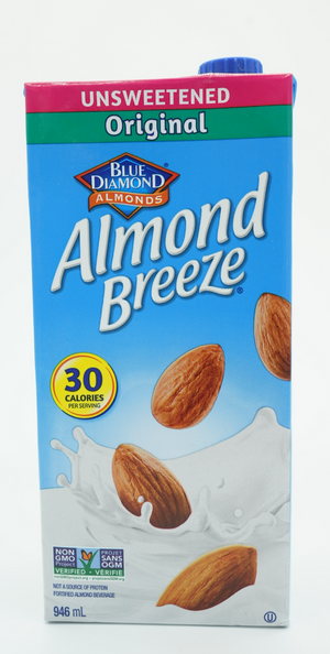 BLUE DIAMOND ALMOND BREEZE UNSSWEETENED ORIGINAL