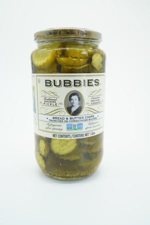 Bubbies Bread & Butter Pickle Chips