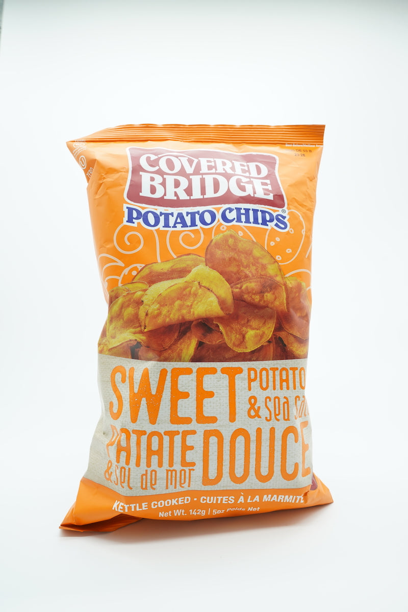 Covered Bridge Sweet Potato & Sea Salt Chips