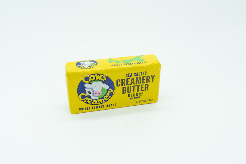 COWS CREAMERY - SEA SALTED BUTTER