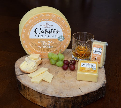 Cahill's Ireland Smooth Irish Cheese w/Kilbeggan Whiskey