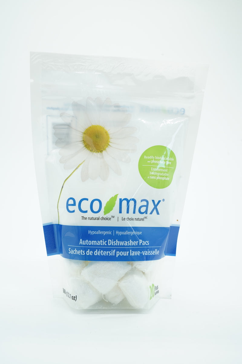 Eco Max Hypoallergenic Dishwasher Pacs