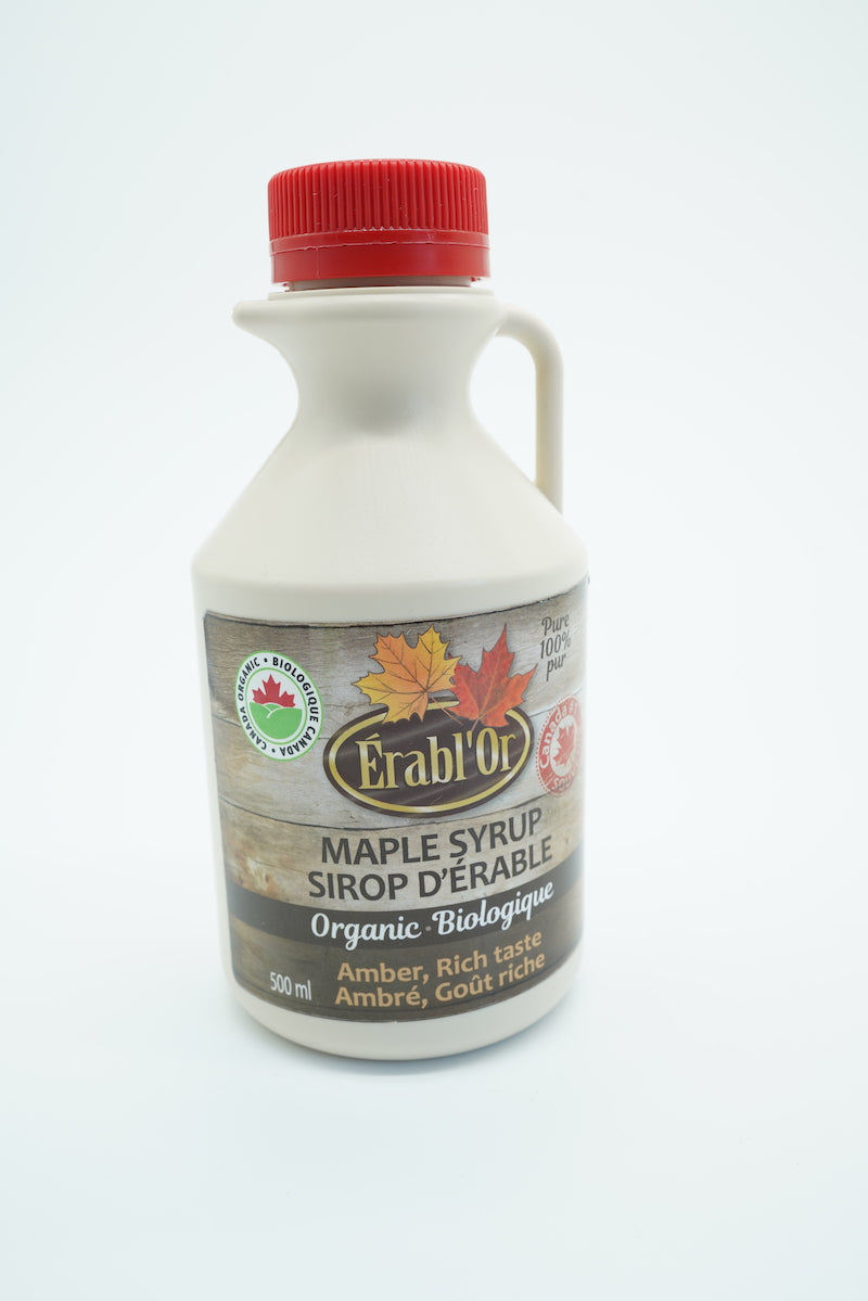 ERABL'OR ORGANIS MAPLE SYRUP