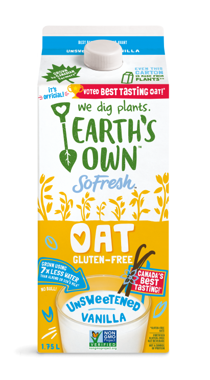 Earth's Own - Unsweetened Vanilla Oat Milk