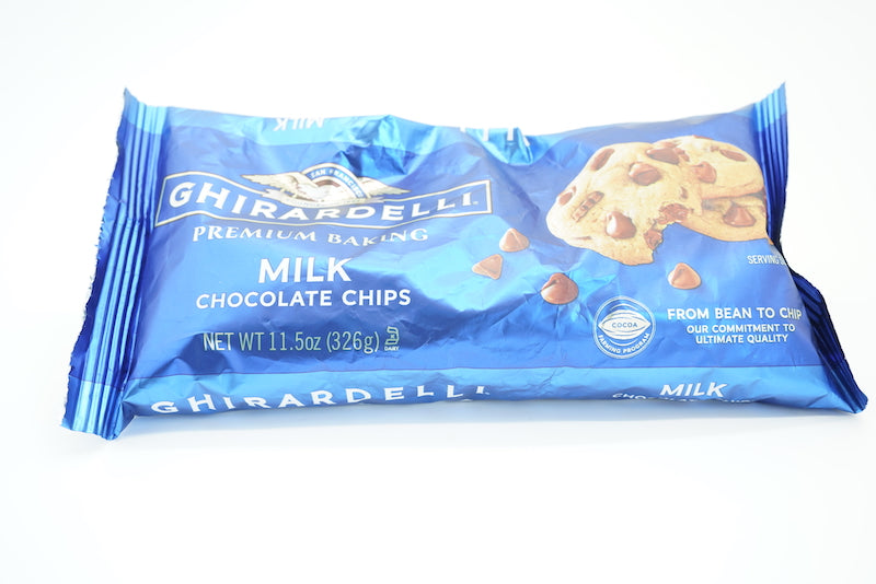 Ghirardelli Premium Milk Chocolate Baking Chips
