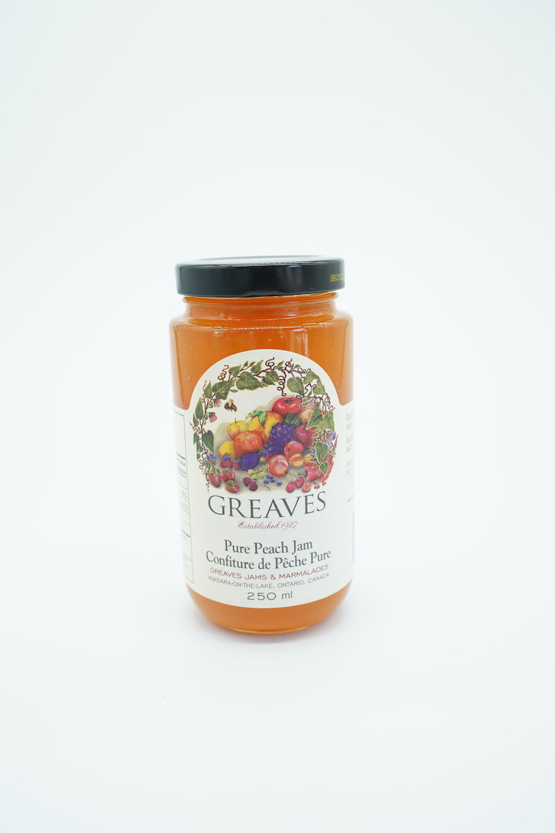 Greaves Pure Peach Jam