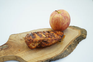Grilled applewood barbeque Chicken breast