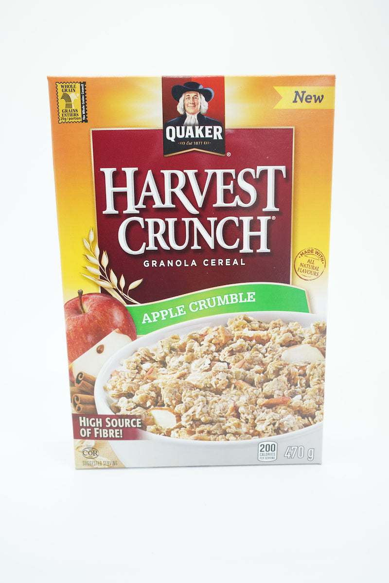 Quaker Harvest Crunch Apple Crumble Granola