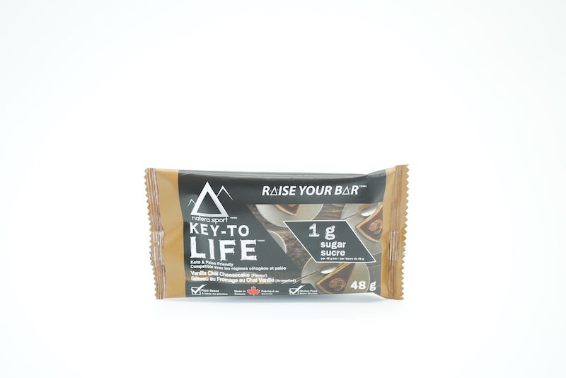 Key To Life Vanilla Chai Keto Bar