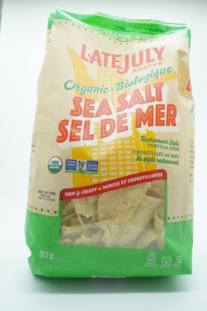Late July Organic Sea Salt Tortilla Chips
