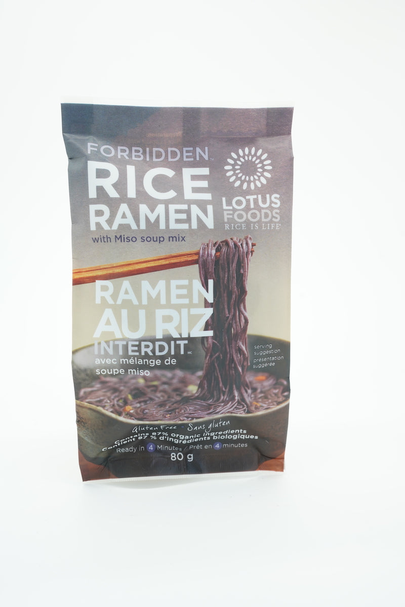 Lotus Foods Rice Ramen with Miso Soup Mix