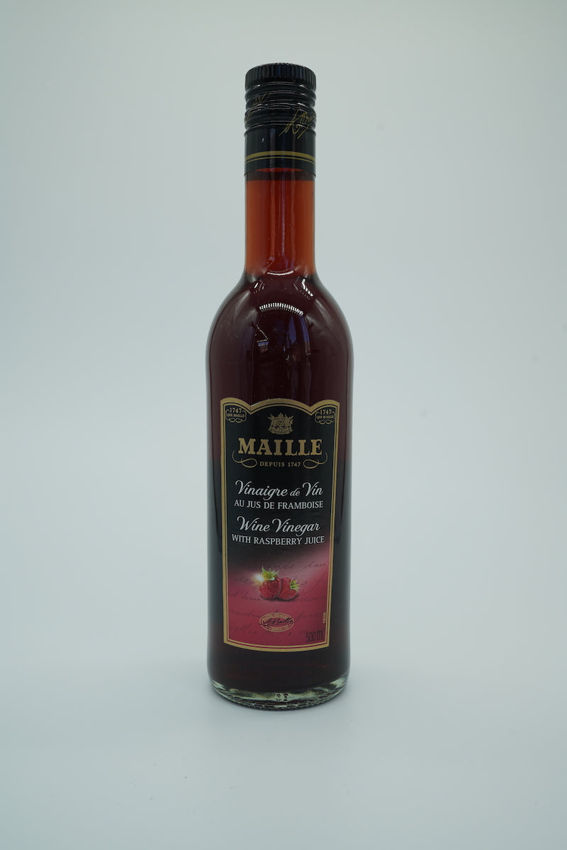 Maille Wine Vinegar with Raspberry Juice