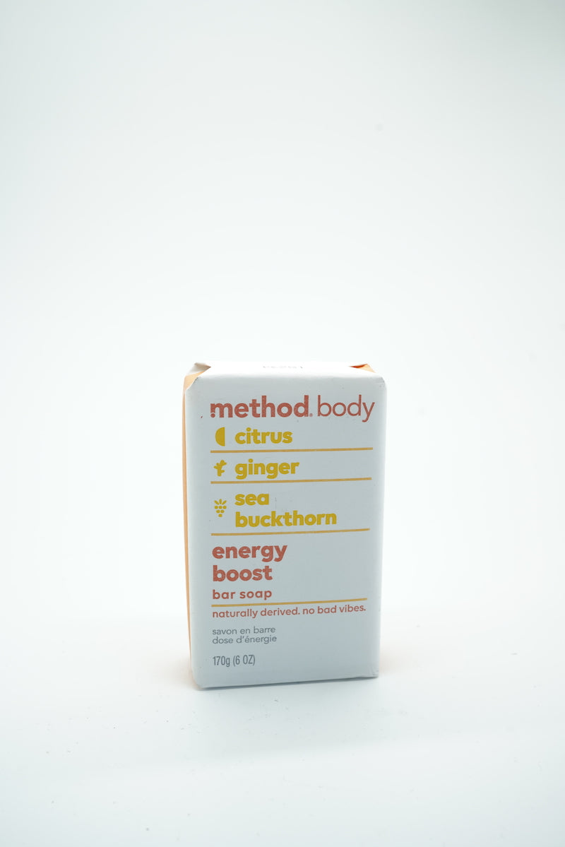 Method Body Citrus Ginger Energy Boost Soap Bar